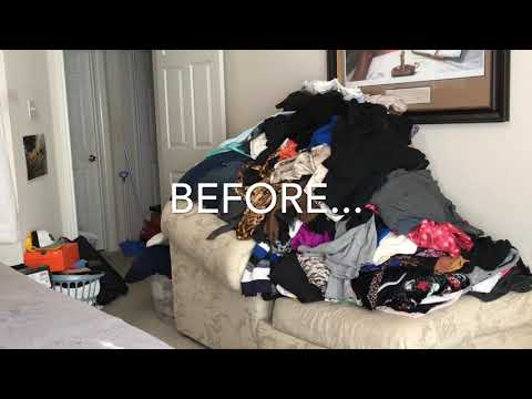 #Declutter & #Organize Master #Bedroom & Closet Part I