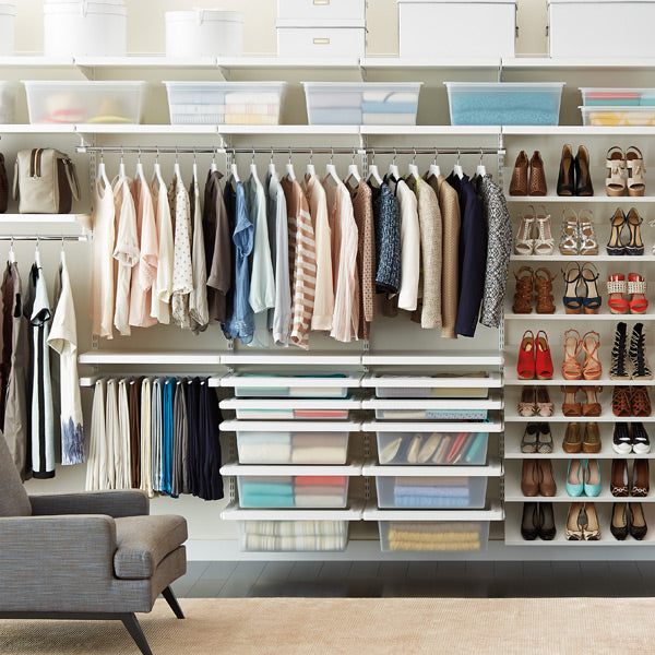Stay at Home Organizing Tips - Closets and Clothing