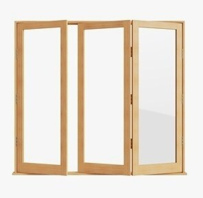 Sweet Wooden Bifold Doors