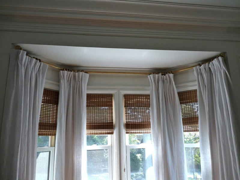 Images Wood Double Curtain Rod