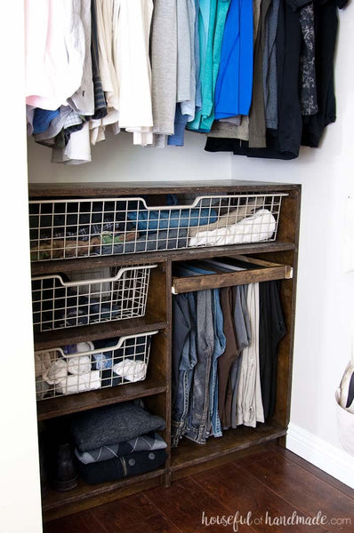 Build your own DIY closet organizers with these creative and budget-friendly closet system ideas