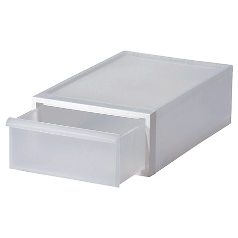 Closet System Drawer, Small White D1