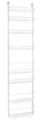 Discover the closetmaid 1233 adjustable 8 tier wall and door rack 77 inch height x 18 inch wide