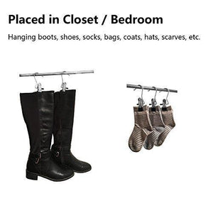 Online shopping yclove 20 pack laundry hook boot clips hanger clips hold hanging clothes pins hooks portable stainless steel home travel hangers clips heavy duty closet organizer hangers pants shoes towel socks hats