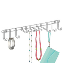 Load image into Gallery viewer, Best interdesign classico wall mount closet organizer rack for ties belts chrome