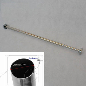Buy now szdealhola stainless steel extendable tension closet rod extender hanging pole retractable