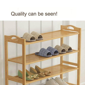 Amazon gx xd simple multi layer bamboo shoe rack dust proof multifunction shoe tower shoe cabinet space saving easy to assemble shoe organizer unit entryway shelf organize your closet cabinet or entryway r