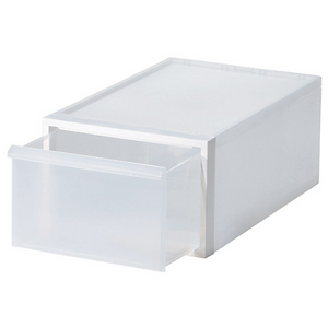 Closet System Drawer Medium, White D2