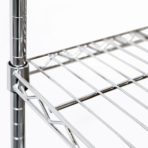 Great seville classics double rod expandable clothes rack closet organizer system 58 to 83 w x 14 d x 72 ultrazinc