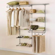 Load image into Gallery viewer, Save rubbermaid configurations 3h8800 3 to 6 foot deluxe custom closet kit