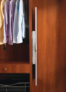 Order now rev a shelf pullout closet mirror satin nickel