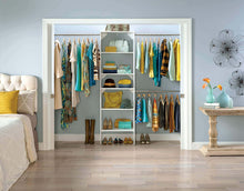 Load image into Gallery viewer, Home closetmaid 24869 suitesymphony 25 inch starter tower kit pure white