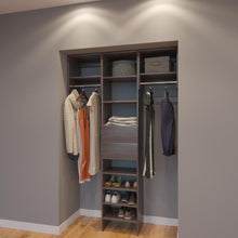 Load image into Gallery viewer, Modular Closets 4.5 FT Closet Organizer System - 54 inch - Style C
