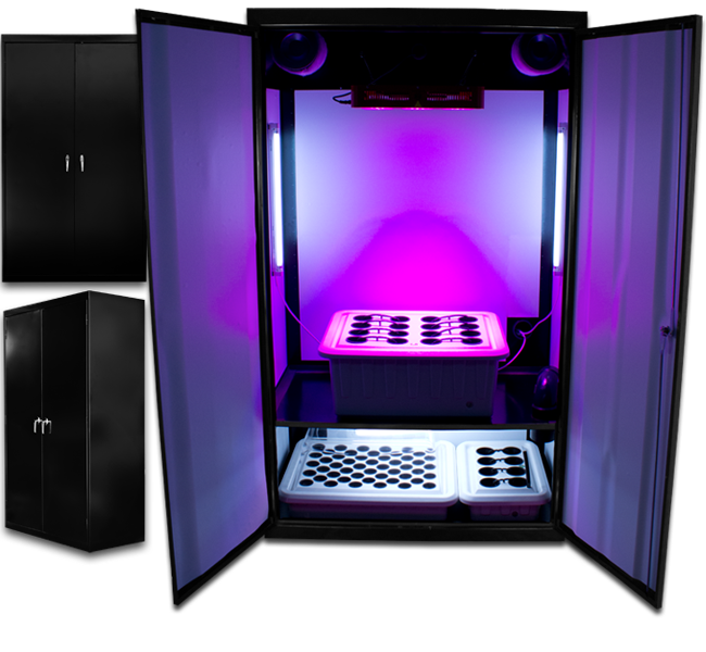 LED SuperNova - LED Grow Cabinets