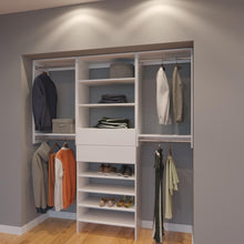 Load image into Gallery viewer, Modular Closets 6.5 ft Closet Organizer System - 78 inch - Style B