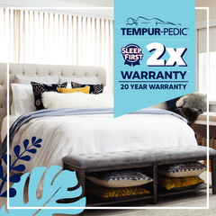 Tempurpedic 20 Year Warranty