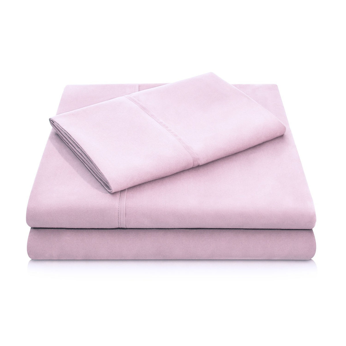 WOVEN Brushed Microfiber Sheet Set Sheet Set Malouf Twin Blush