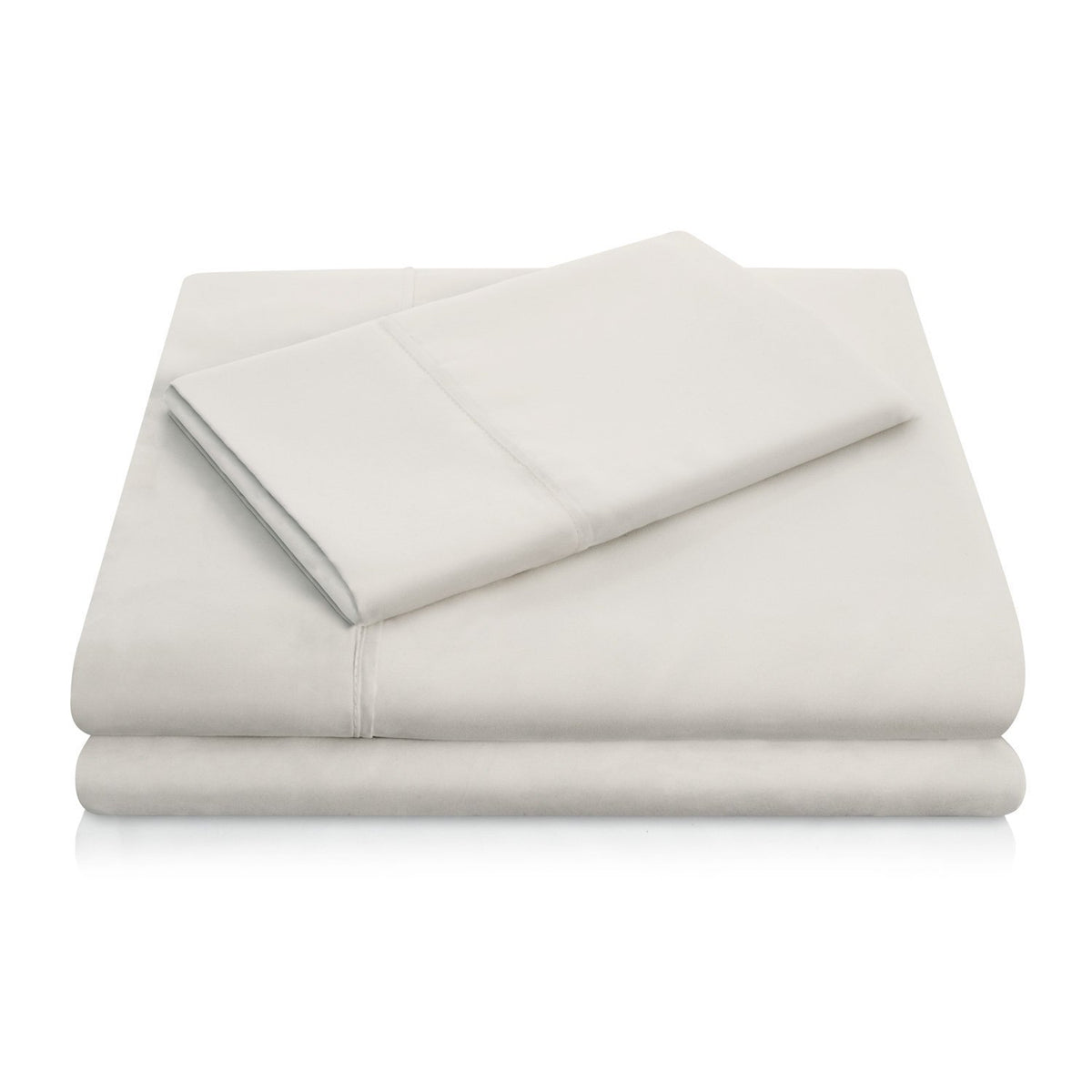 WOVEN Brushed Microfiber Sheet Set Sheet Set Malouf Twin Driftwood