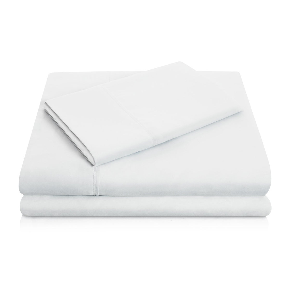 WOVEN Brushed Microfiber Sheet Set Sheet Set Malouf Twin Ash