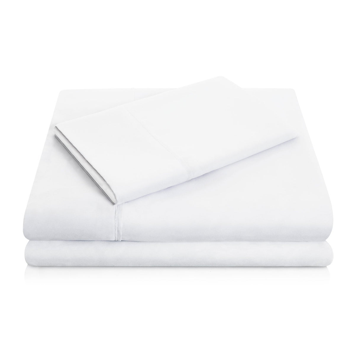 WOVEN Brushed Microfiber Sheet Set Sheet Set Malouf Twin White