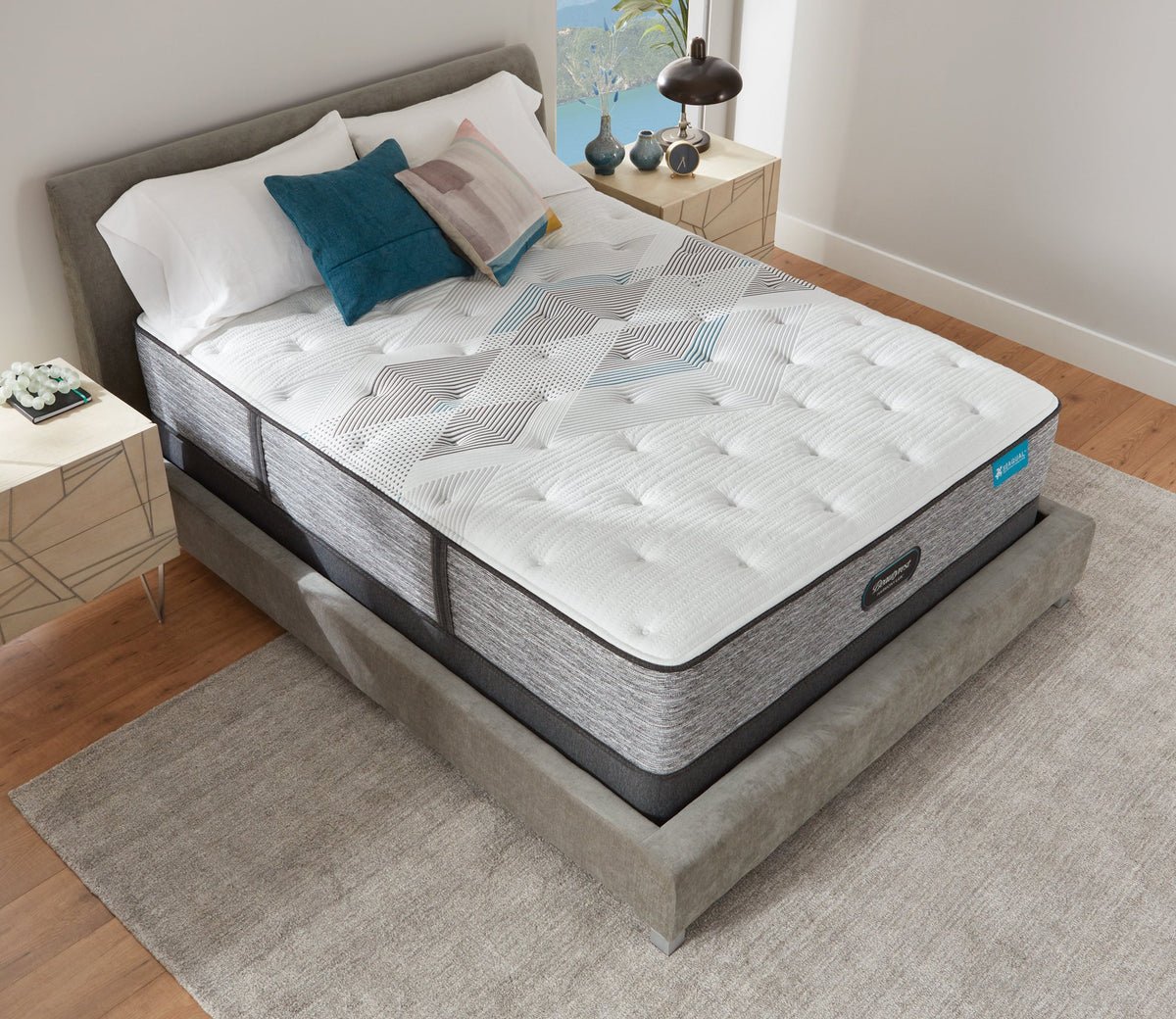 Beautyrest Harmony Carbon Lux Medium Mattress Mattress Simmons