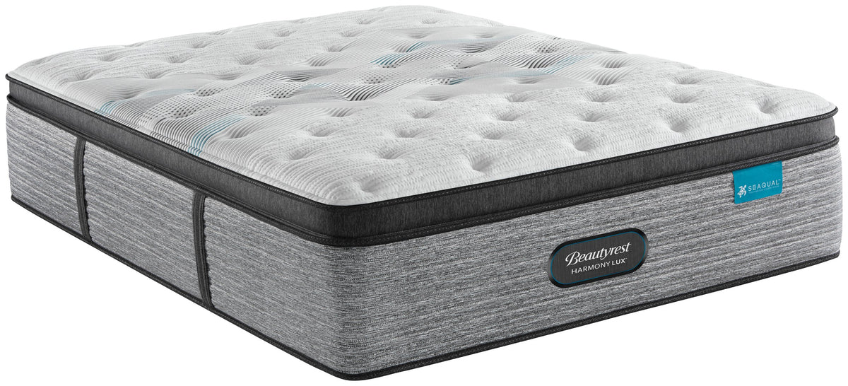 Beautyrest Harmony Carbon Lux Plush Pillowtop Mattress Mattress Simmons