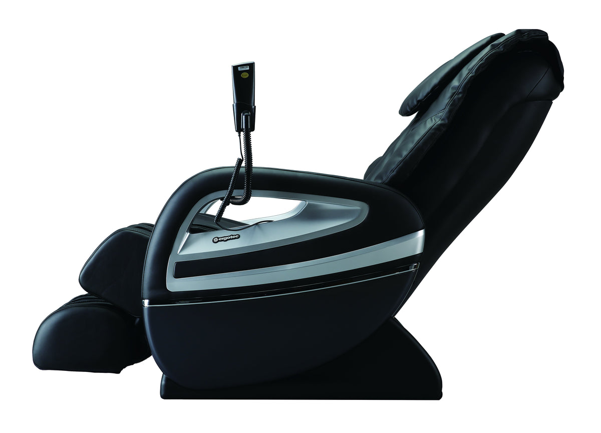 Cozzia Massage Chair Side Reclined Angle View