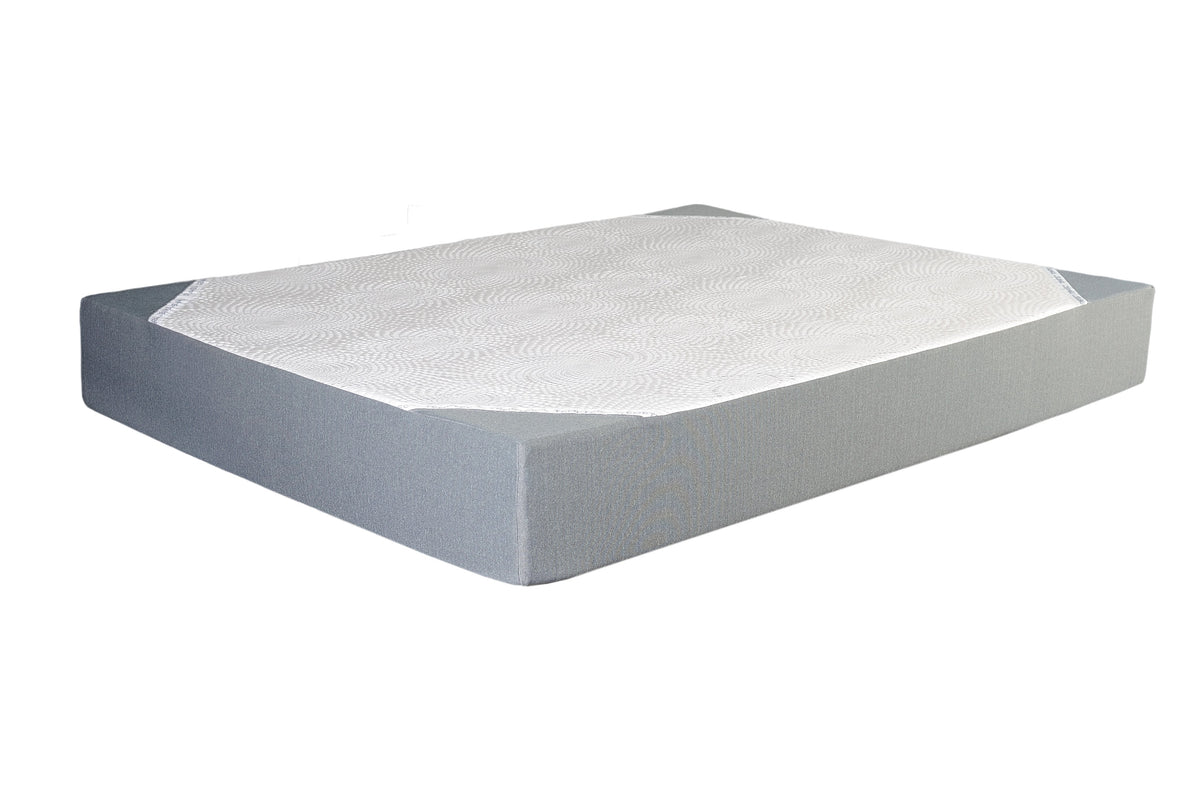 "Gel Memory Foam 10"" Mattress Mattress Beds To Go"