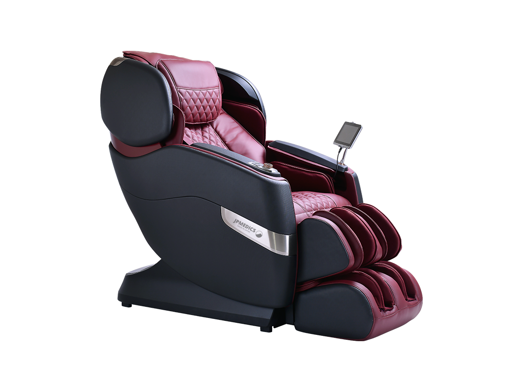 JPMedics Kumo Massage Chair Black /Red