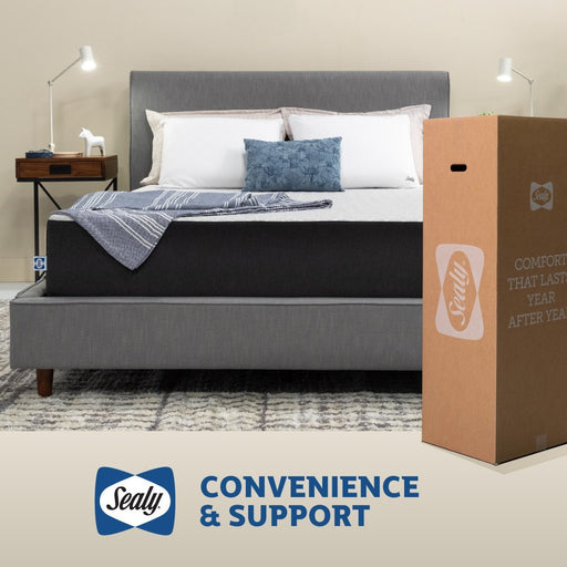 "Sealy 10"" Copper Hybrid Medium Mattress Mattress Sealy"