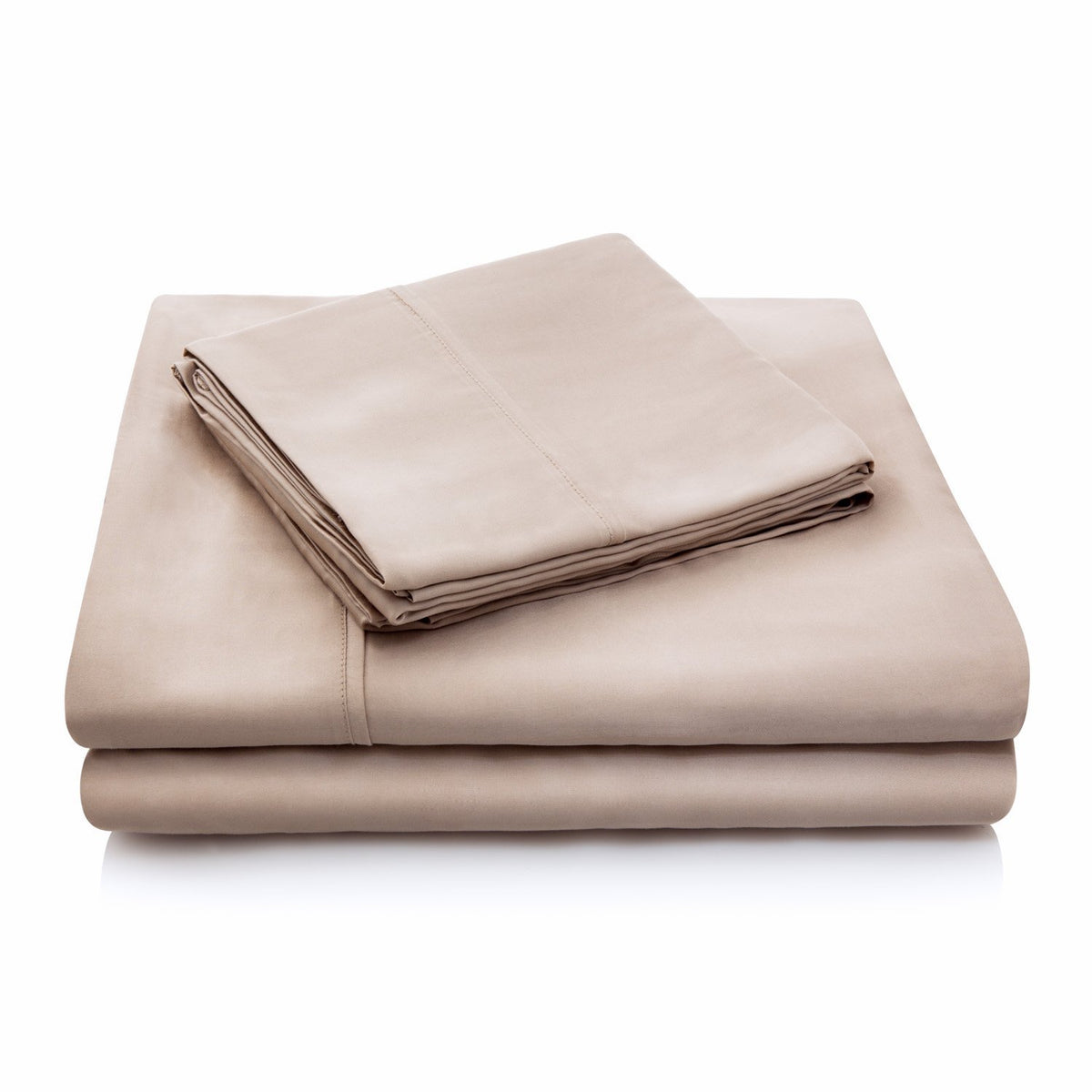 WOVEN TENCEL™ Sheet Set Sheet Set Malouf Twin Ecru