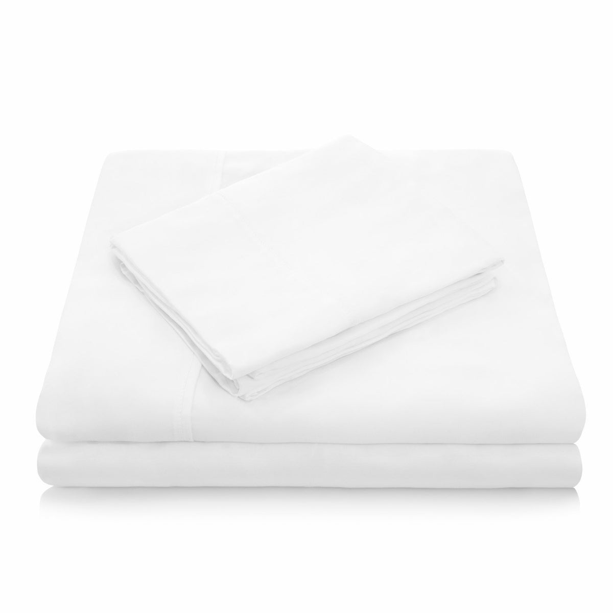 WOVEN TENCEL™ Sheet Set Sheet Set Malouf Twin White