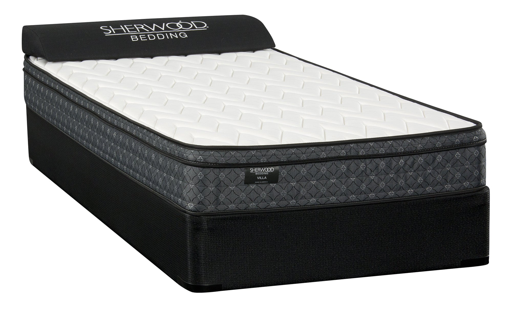 Sherwood Villa Euro Top Plush Mattress Mattress Sherwood