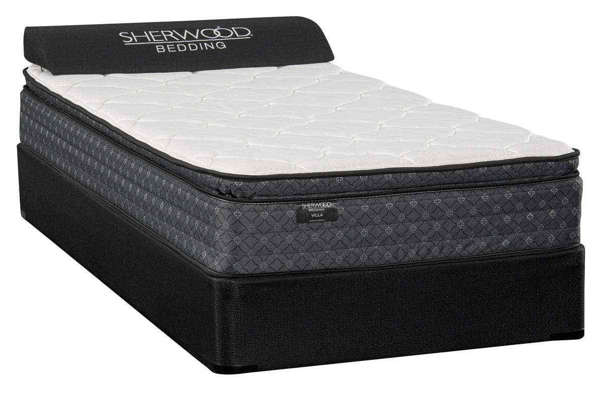 Sherwood Villa Pillowtop Plush Mattress Mattress Sherwood