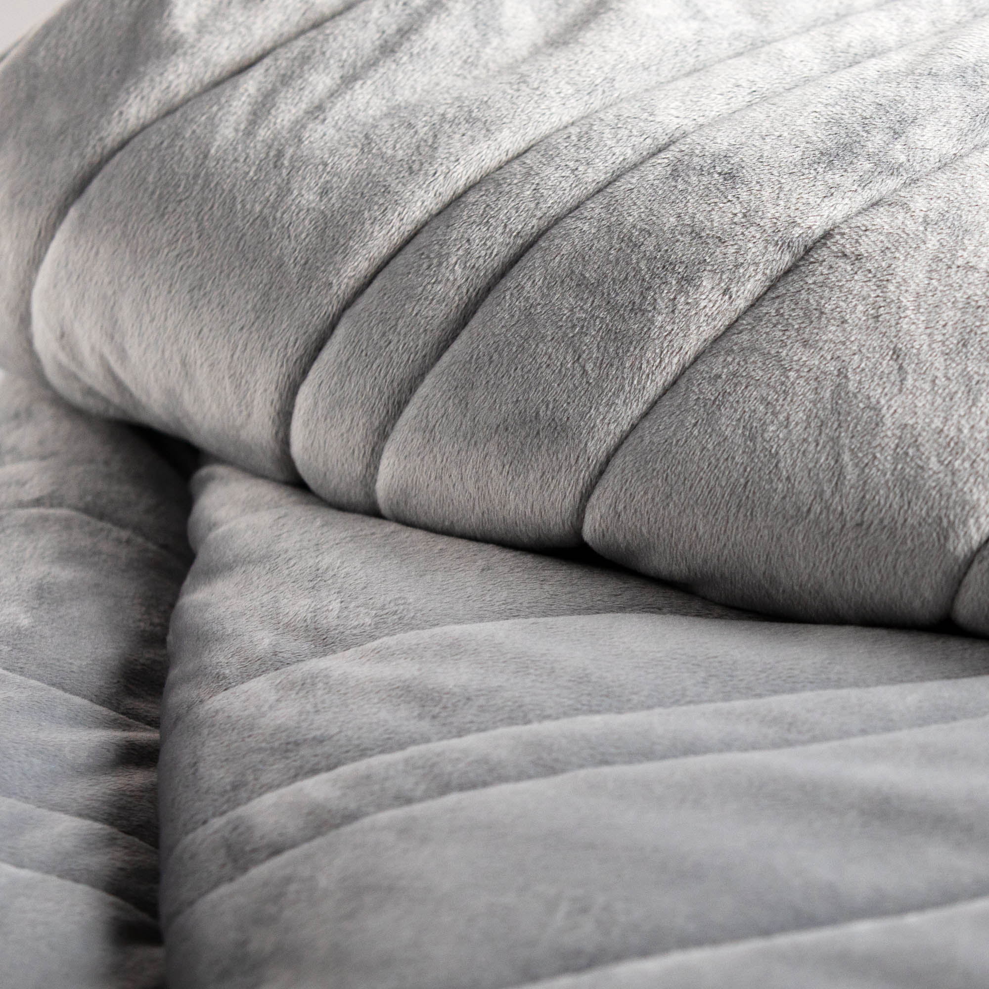Anchor 15lb Weighted Blanket in Ash Malouf