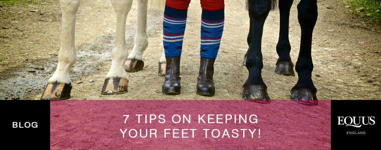7 tips on keeping your feet warm and toasty