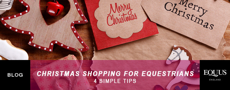 Christmas shopping for equestrians