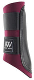 Woof Wear Club Brushing Boots Burgundy