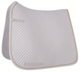 HKM Dressage Saddle Cloth with Gold Piping