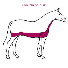 Horse Low Trace Clip