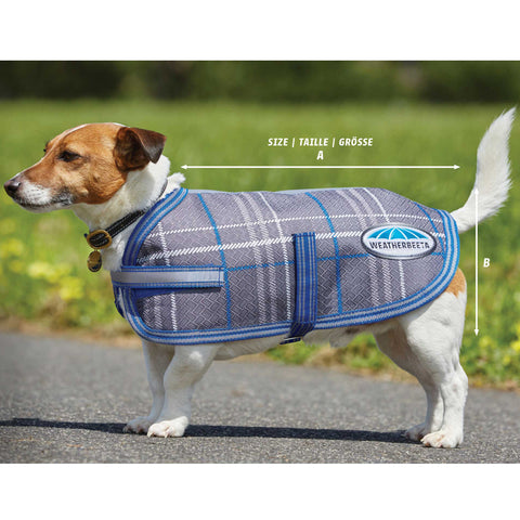Weatherbeeta ComFiTec Parka 1200D Dog Coat Size Guide