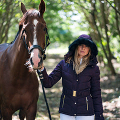 Coldstream Cornhill Quilted Jacket in Navy