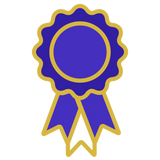 EQUUS VIP Rosette Rewards - Blue Rosette