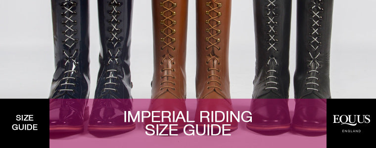 Imperial Riding Size Guide