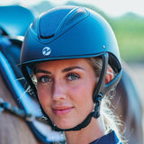 Busse Licata Riding Hat In Navy