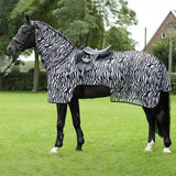 Busse Moskito II Zebra Print Exercise Combo Fly Rug