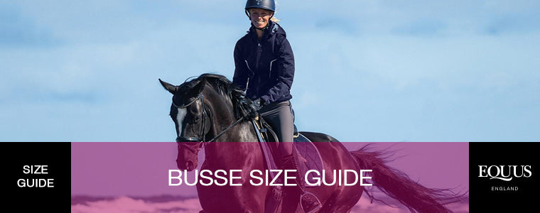Busse Size Guide