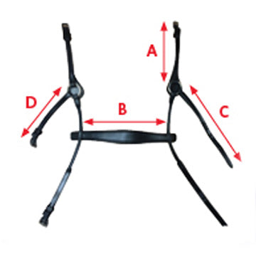 Collegiate ComFiTec Bridles Measurement Aid