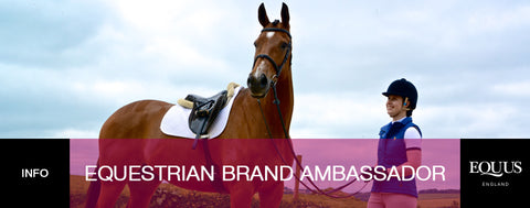 Want to be an Equestrian Brand Ambassador?