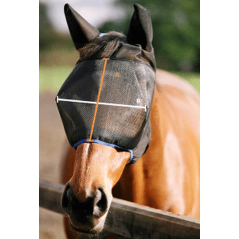 Equilibrium Field Relief Midi Fly Mask With Ears Size Guide Image